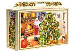 Новогодняя упаковка для подарков «В ожидании чуда»