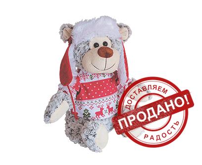 """Новогодняя упаковка для подарков """"Снежок"""""""