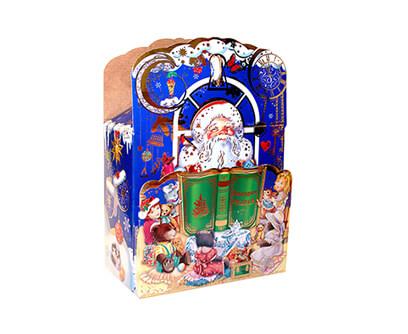 Новогодний подарок в упаковке из микрогофрокартона - В гостях у сказки