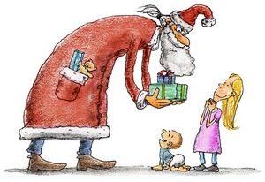 Новогодние подарки детям из конфет