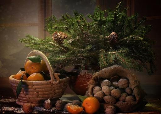 Вкусные украшения новогодней елки