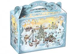 Новогодний подарок «Чемоданчик Новогодняя Ярмарка»