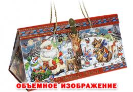 Новогодний подарок «Коробка Лесной концерт»