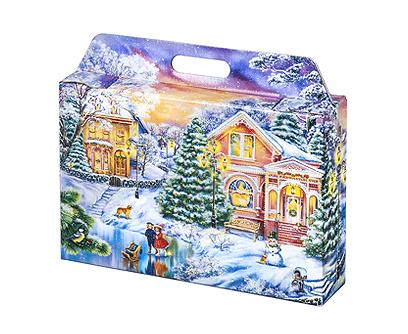 Новогодний подарок «Портфельчик Закат»