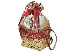 Новогодний подарок «Сани Деда Мороза»