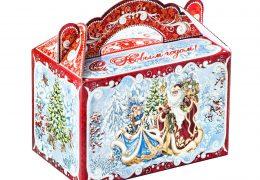 Новогодняя упаковка – «Чемоданчик Снегурочка и Дед Мороз», фото 2
