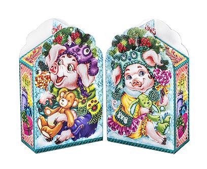 Новогодняя упаковка – «Хрюши-Лапуши»