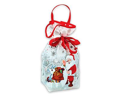 Новогодняя упаковка – «Мешочек белый (малый)»