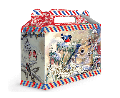 Новогодняя упаковка – «Снежок»