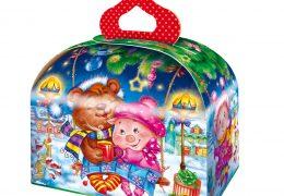 Новогодняя упаковка – «Сундучок Качели». фото 2