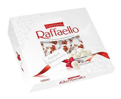 Конфеты Raffaello с цельным миндальным орехом в кокосовой обсыпке