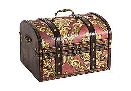 В деревянной упаковке