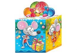Новогодний подарок «Кубик Символ»