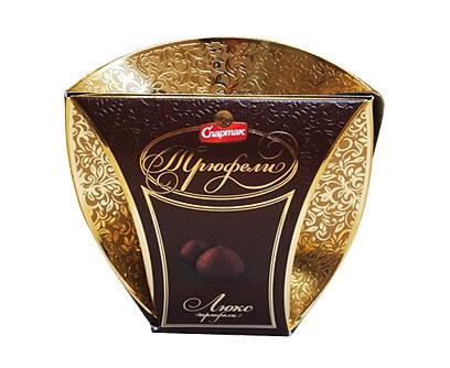 Подарочный набор конфет «Трюфели» Люкс