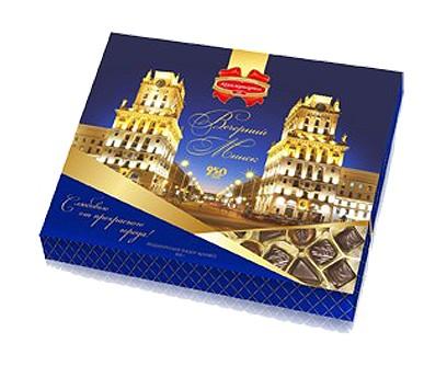 Подарочный набор конфет «Вечерний Минск»