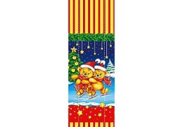 Новогодний подарок «Медведи на коньках»