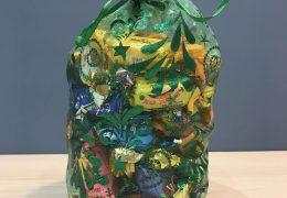 Новогодний подарок «Мешочек из органзы синий», фото 3