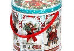 Новогодний подарок «Металлическая банка Ретро», фото 2