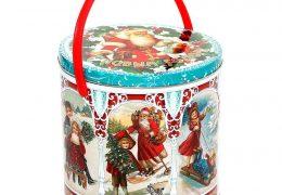 Новогодний подарок «Металлическая банка Ретро», фото 3