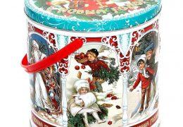 Новогодний подарок «Металлическая банка Ретро», фото 5