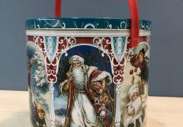 Новогодний подарок «Металлическая банка Ретро», фото 6