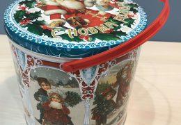 Новогодний подарок «Металлическая банка Ретро», фото 9