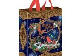 Новогодний подарок «Сумочка на кнопке Зимняя Рябина», фото 2