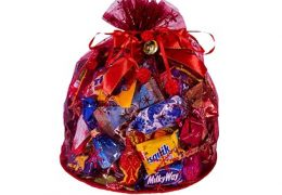 Новогодний подарок «Волшебный мешочек красный»